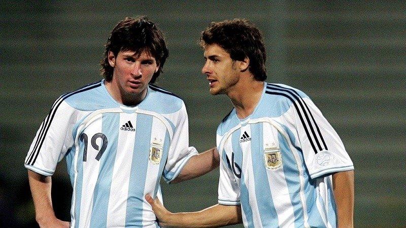 Messi Pablo Aimar