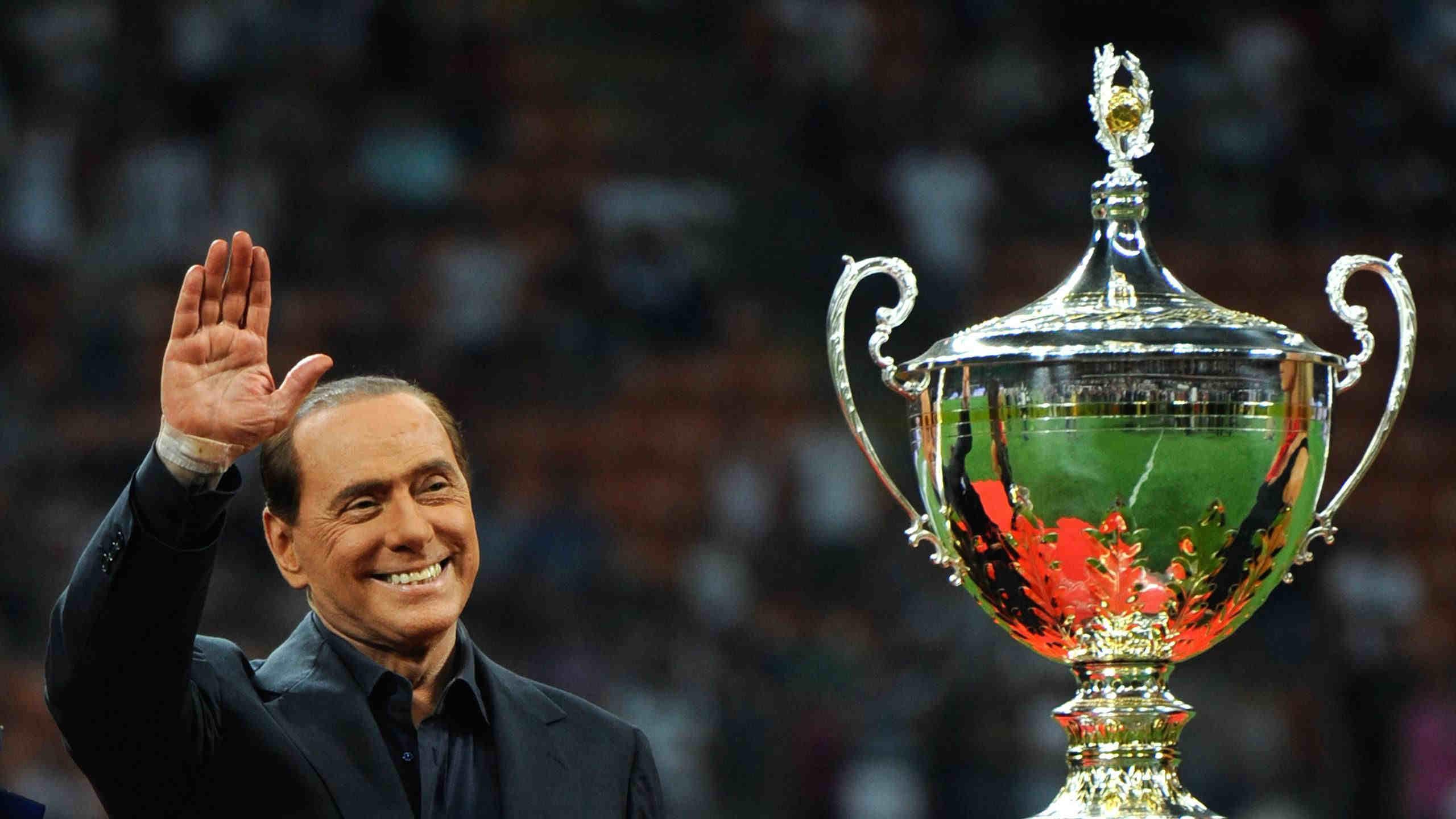 Silvio Berluskoni Milan Italiya
