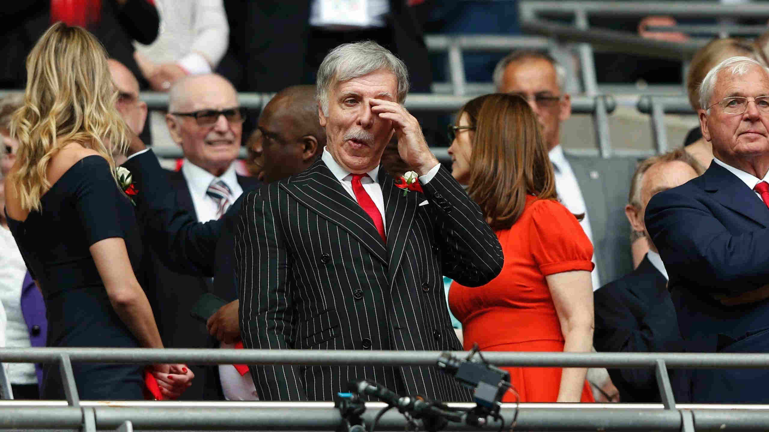 Sten Kronke Arsenal London Angliya