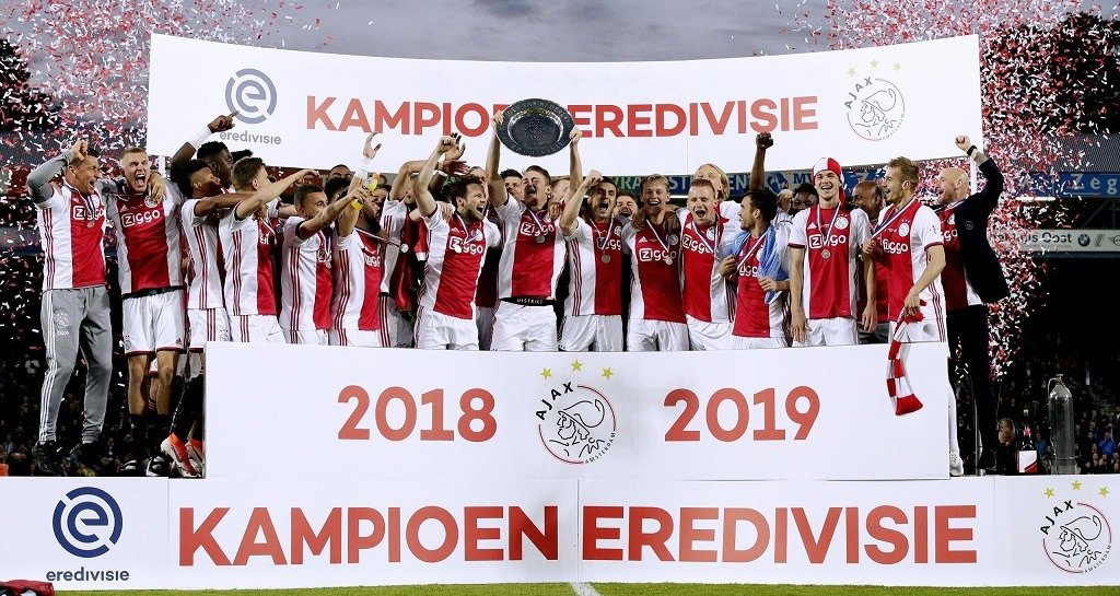 The Eredivisie 2018 19 champs