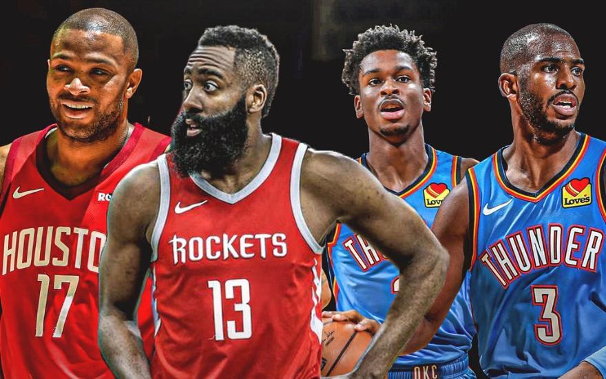 Хьюстон Рокетс - Оклахома-Сити Тандер. Прогноз и ставки на Баскетбол. 3 сентября 2020 года