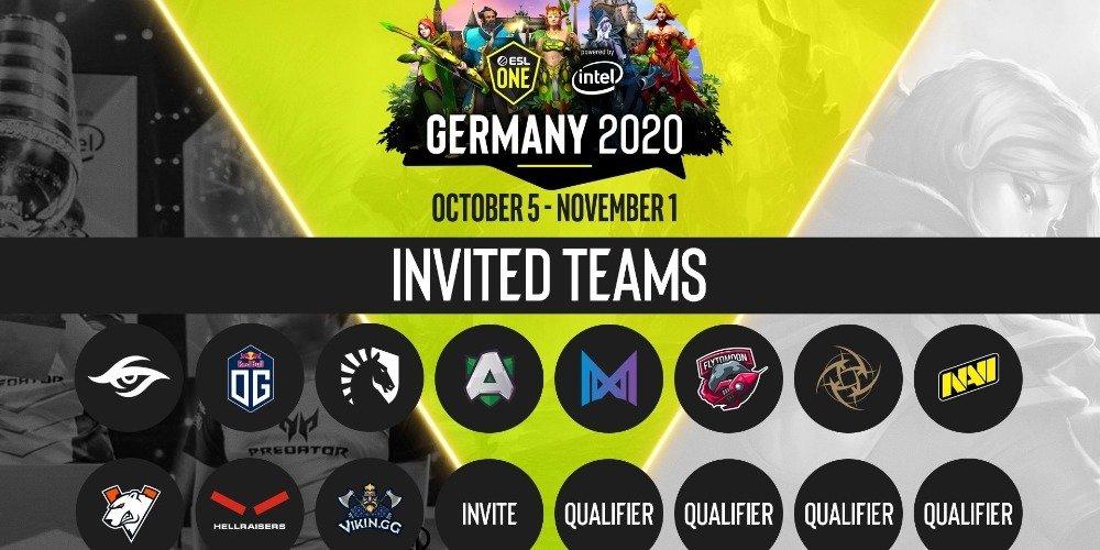 BK Parimatch razygryvaet 165 000 rublej v konkurse prognozov na turnir ESL One Germany 2020 po Dota 2