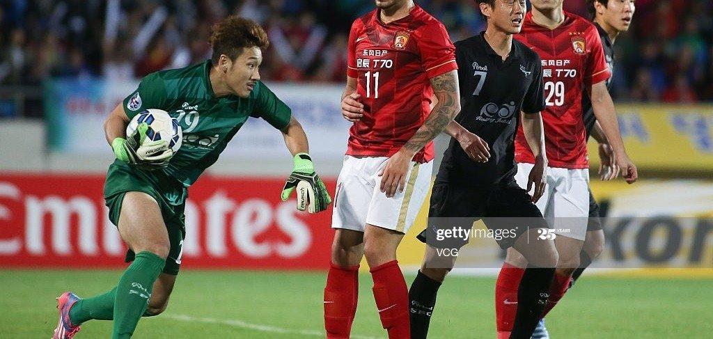 Park Jun hyuk goalkeeper