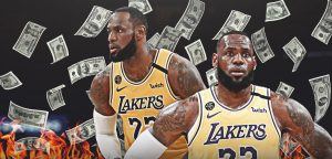 lebron james money