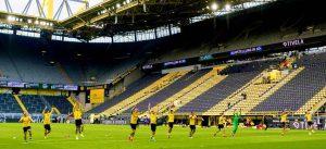 Stavki na futbol bez zritelej pri pustyh tribunah