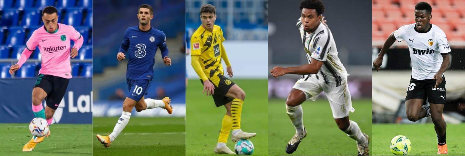 5 voshodyashhih futbolnyh zvezd iz SSHA vystupayushhih v Evrope