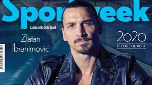 Ibrahimovic man of 2020 on Sportweek