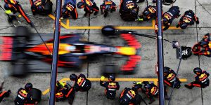 f1 red bull pit stop