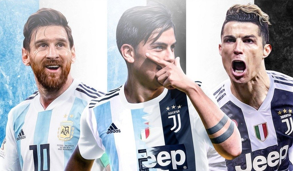 paulo dybala messi cr7