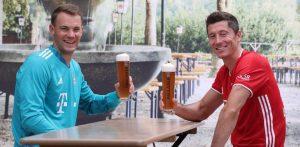 Lewandowski Neuer