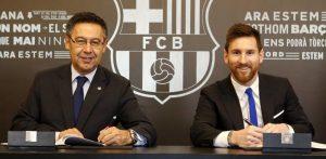 BARTOMEU and Messi