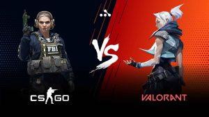 CS GO vs Valorant kakaya igra budet dominirovat v kibersporte