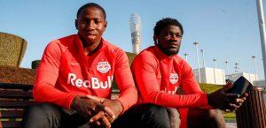 Mohamed Camara and Sekou Koita