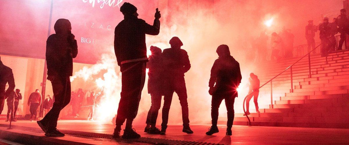 Появилось видео нападения ультрас «Марселя» на тренировочный центр клуба 30 января