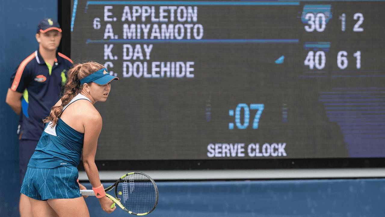 tablo v tennise i vedenie podscheta ochkov