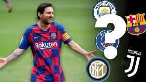 Barselona pokinula Ligu CHempionov CHto budet s Messi kuda perejdet Leo ili ostanetsya