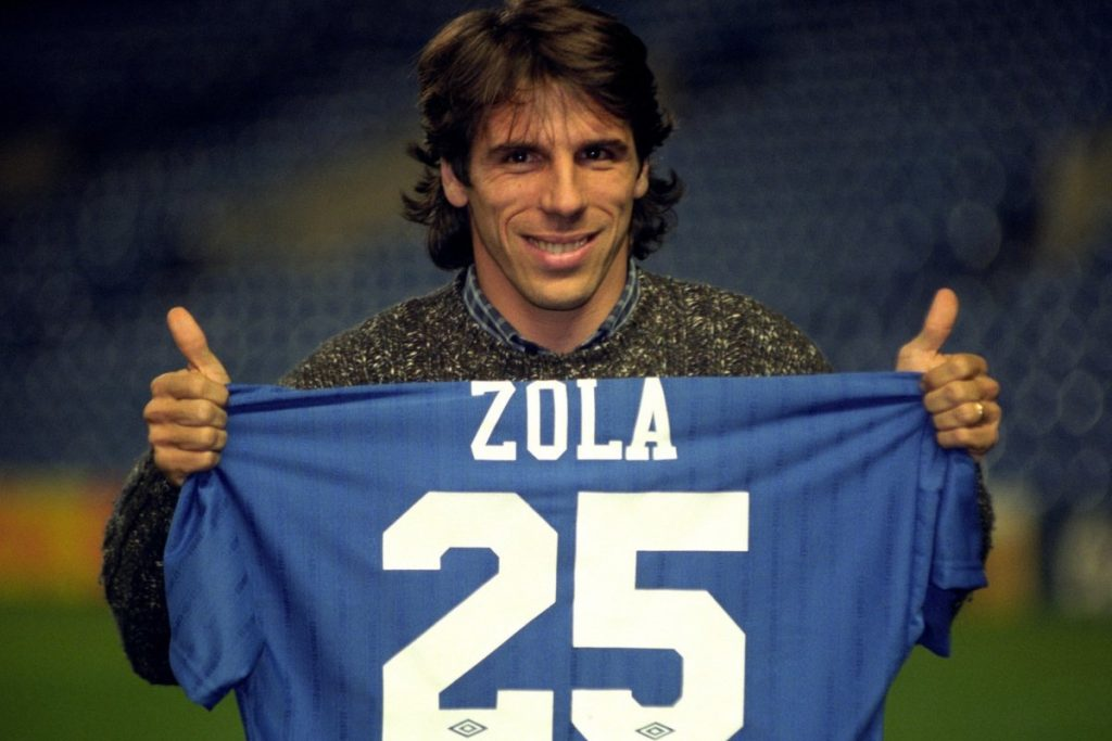 Gianfranco Zola chelsea