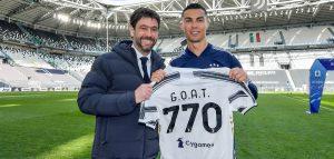 ronaldo goat