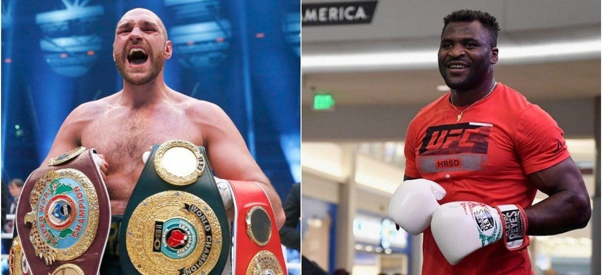 Tyson Fury and Francis Ngannou