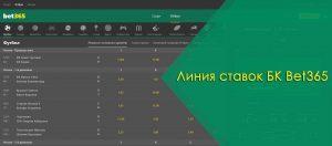 liniya stavok bet365 ru rospis koeffitsienty marzha keshaut konstruktor stavok