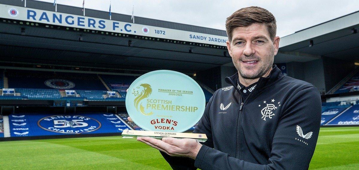 Steven Gerrard award