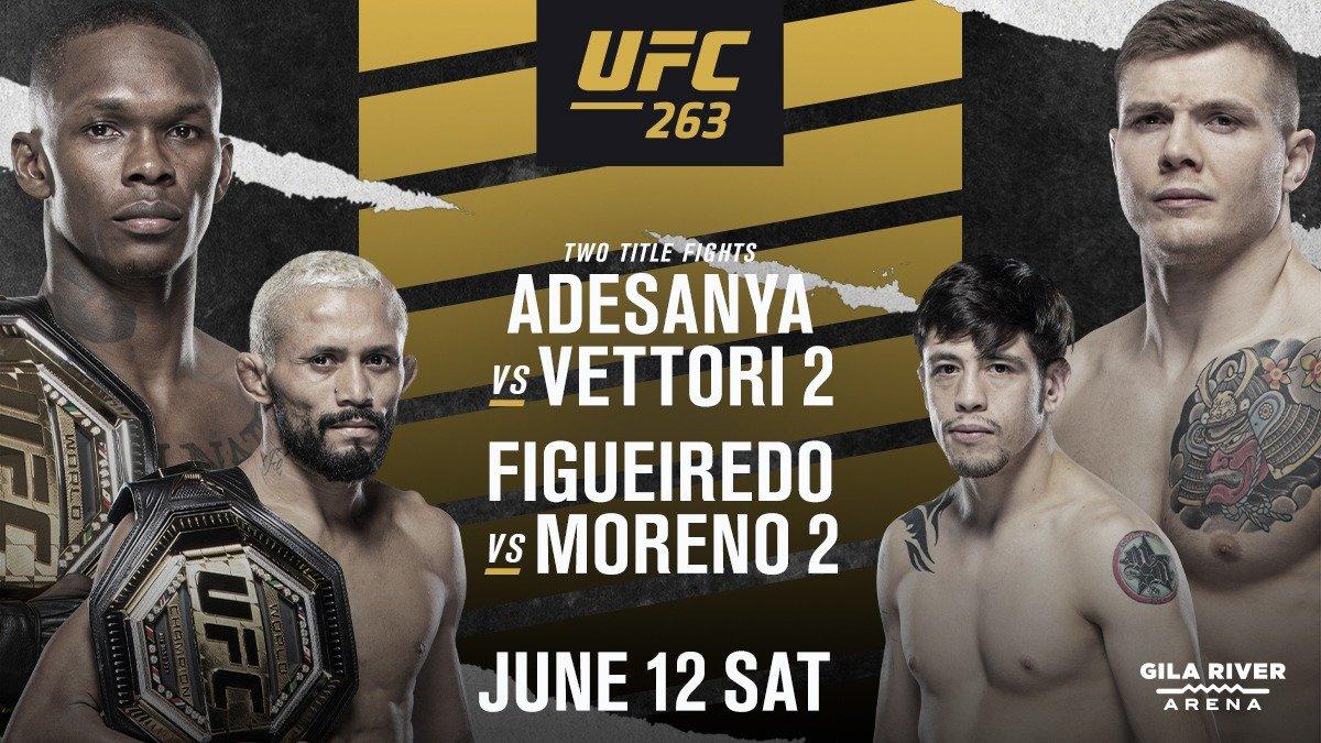Прогнозы UFC 263