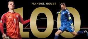 Manuel Neuer 100