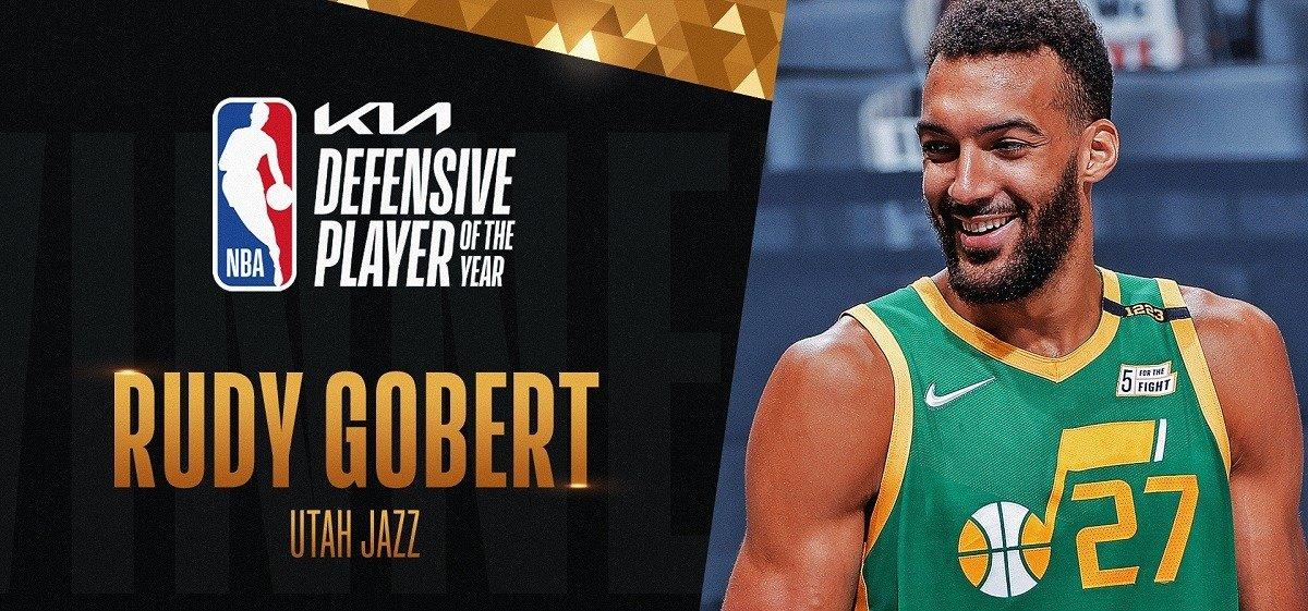 НБА продолжает вручать награды по итогам регулярного сезона: Гобер, Йокич, Тибодо