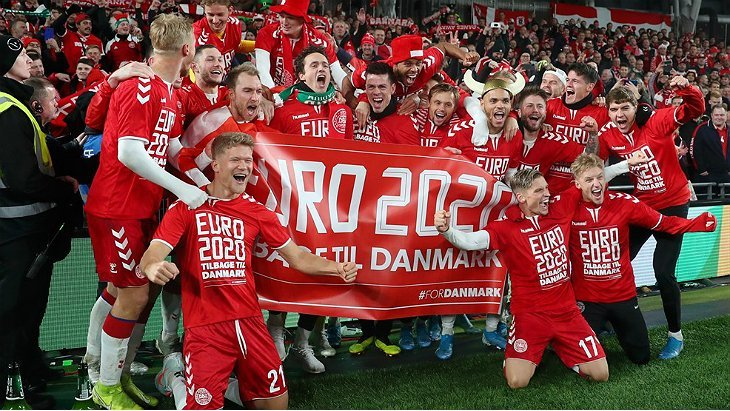 БК 888.ru вернет ставки на выход сборной Дании в финал Евро-2020