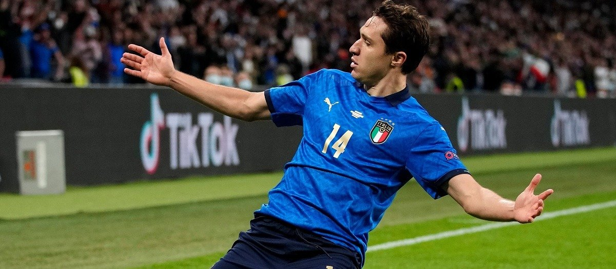 Лучшим игроком первого полуфинального матча Евро-2020 признан Федерико Кьеза