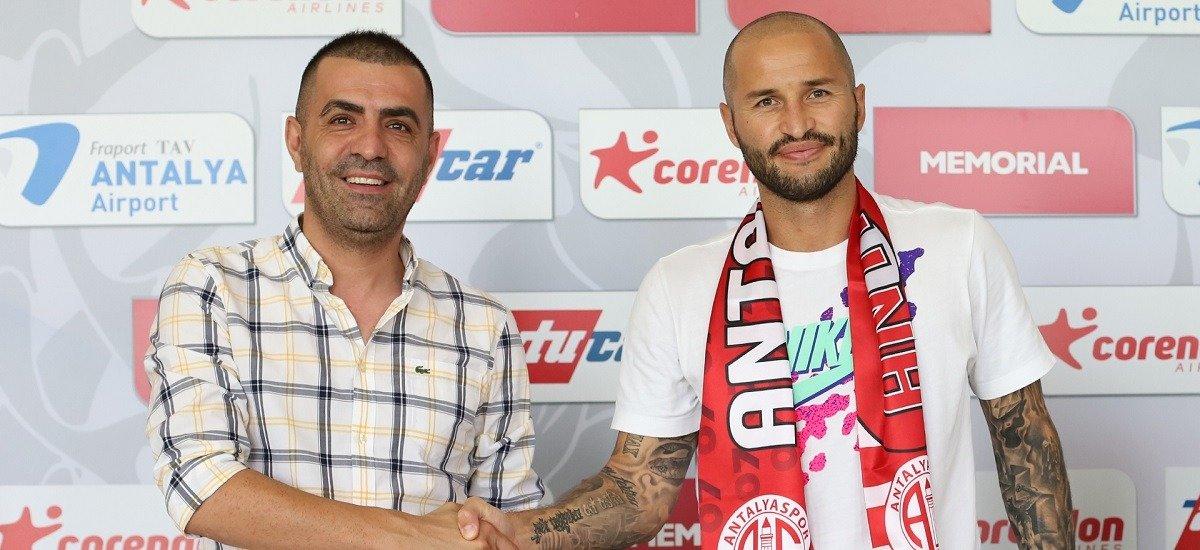 Защитник сборной России Фёдор Кудряшов заключил соглашение с турецким «Антальяспором»
