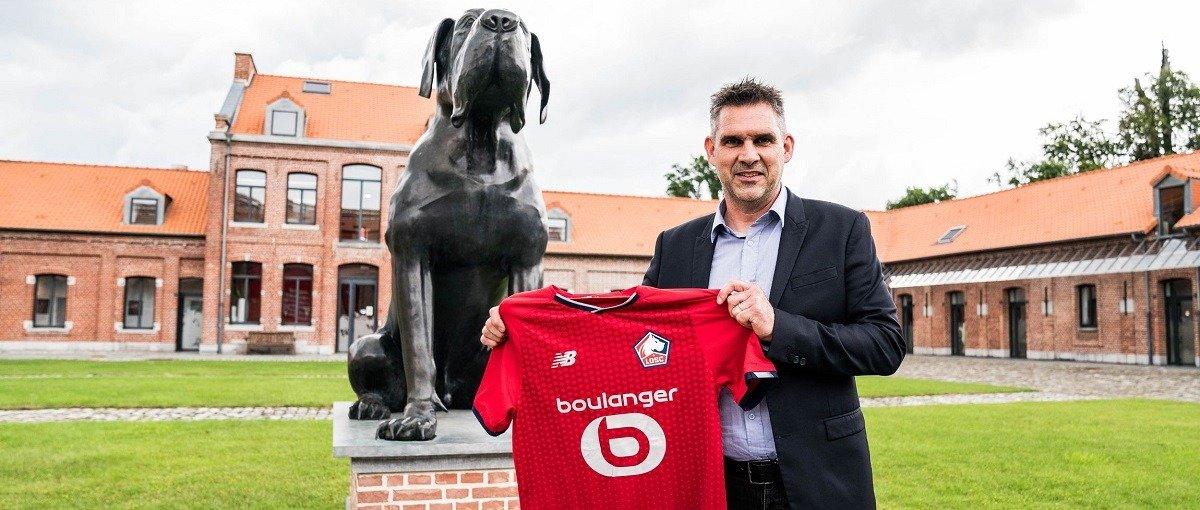 Чемпион французской Лиги 1 «Лилль» представил нового наставника команды