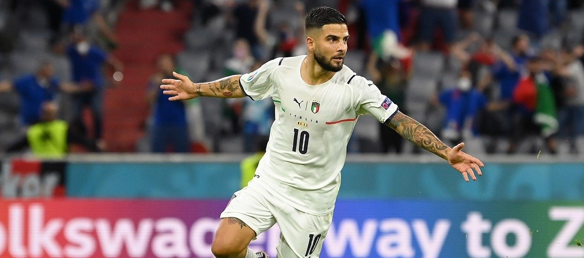 Италия продлила победную серию на Евро-2020 до пяти матчей, лучшим во встрече с Бельгией признан Инсинье