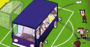 Taktika avtobus v futbole sut realnye primery varianty stavok