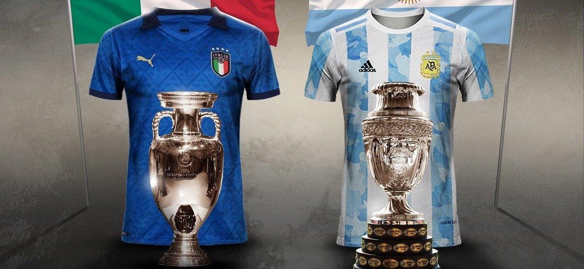 КОНМЕБОЛ и УЕФА обдумывают проведение чемпионского товарищеского матча между Аргентиной и Италией