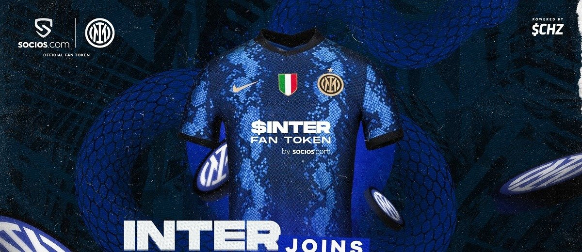 Приложение Socios.com стало новым титульным спонсором «Интера», фанатский токен клуба - $INTER