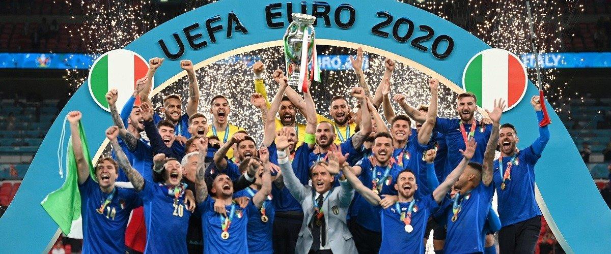 Сборная Италии – двукратный чемпион Европы. Интересные факты о финале Евро-2020