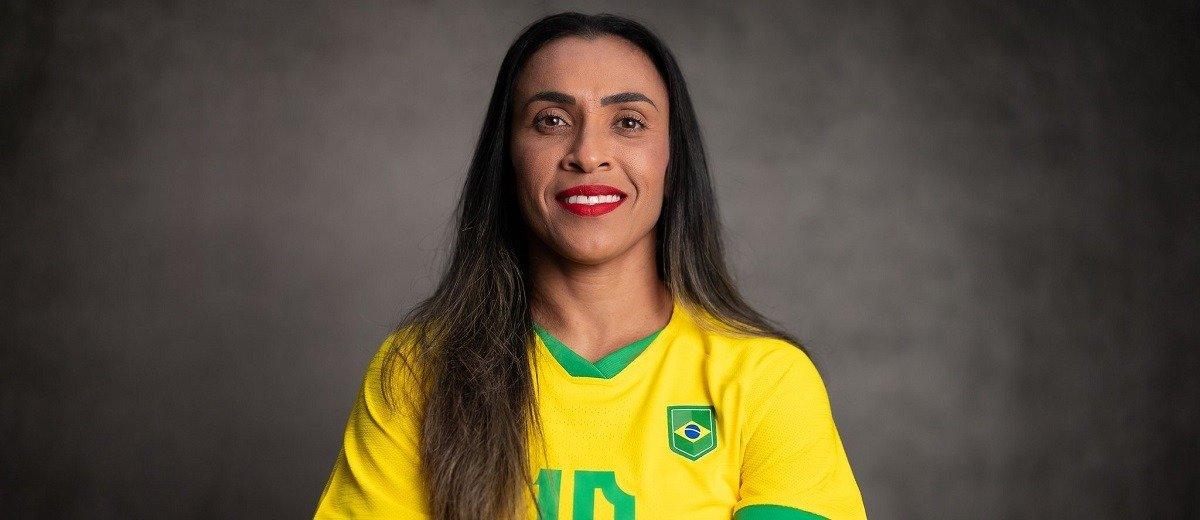 Легендарная футболистка сборной Бразилии Марта установила абсолютный рекорд Олимпийских игр