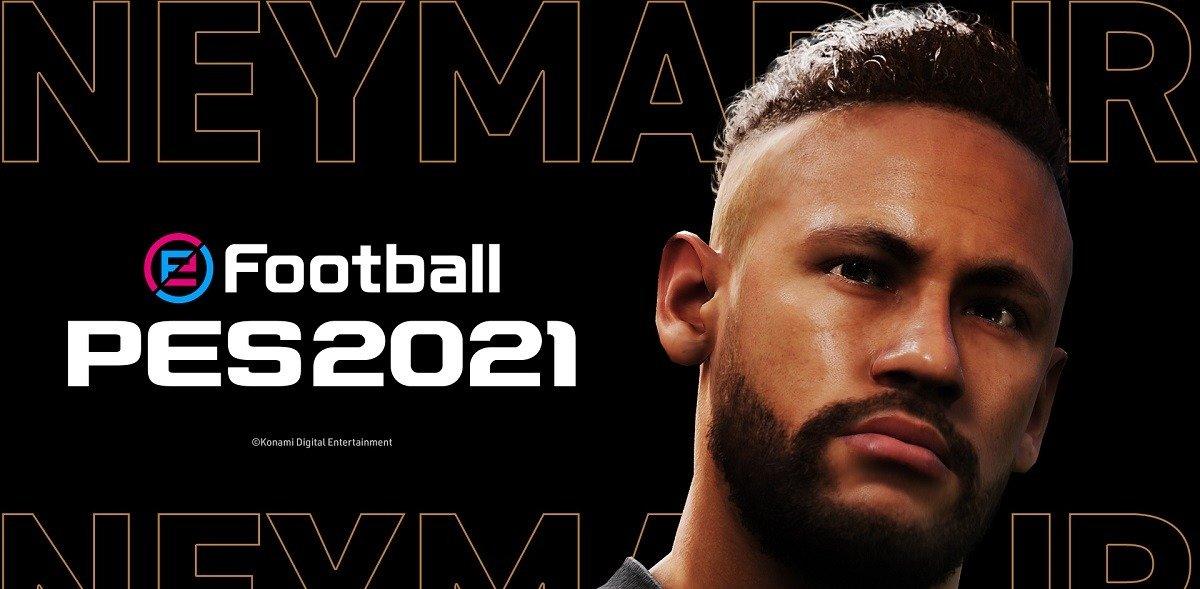 Неймар стал новым амбассадором «Konami» и будет продвигать футбольный симулятор eFootball PES 2021