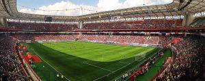 RZHD Arena Stadion Lokomotiva i sbornoj Rossii obzor osobennosti interesnye fakty top matchi
