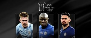 uefa player of the year nominees 2021