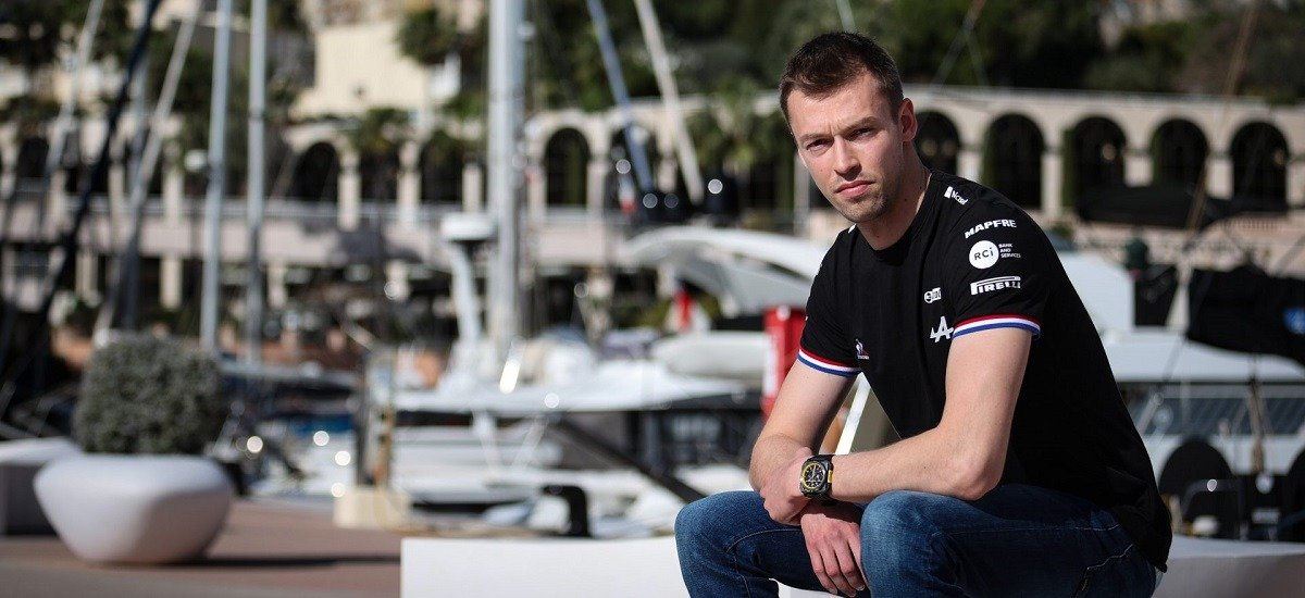 Даниил Квят на несколько дней вернётся в кокпит болида Формулы-1