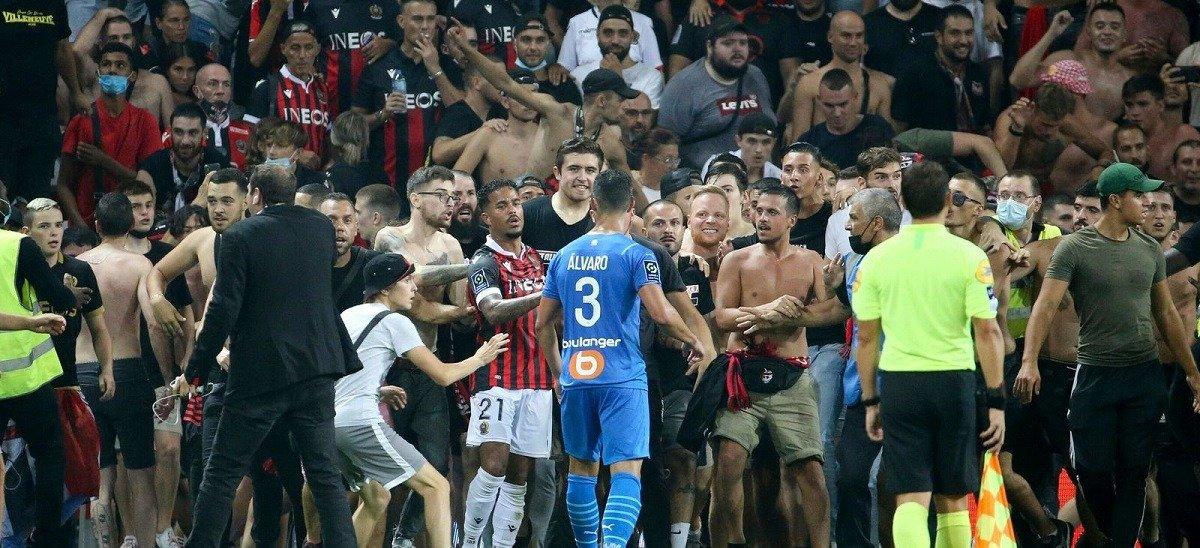 ПФЛ Франции вынесла дисциплинарное решение по скандальному матчу «Ницца» - «Марсель»