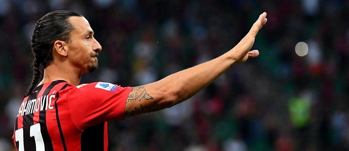 Златан Ибрагимович пропустит стартовый матч «Милана» в Лиге Чемпионов