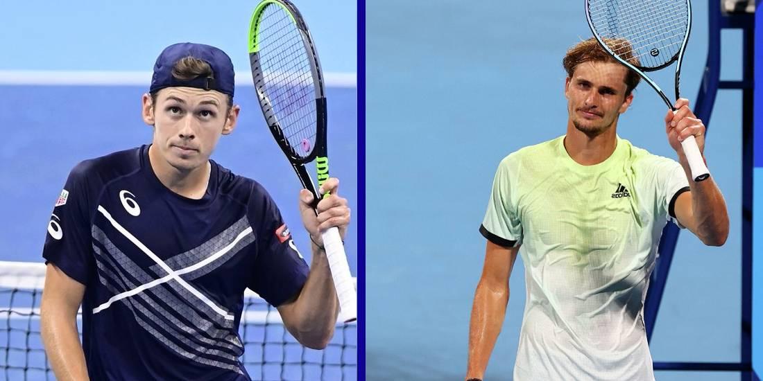 Aleks De Minaur Aleksandr Zverev prognoz stavki koeffitsienty na match 28 oktyabrya 2021 tennis