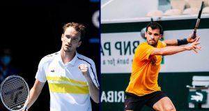 Daniil Medvedev Grigor Dimitrov koeffitsienty stavki prognoz na match 13 oktyabrya 2021 goda tennis
