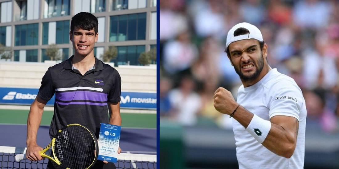 Karlos Alkaras Garfiya Matteo Berrettini prognoz stavki koeffitsienty na match 29 oktyabrya 2021 tennis