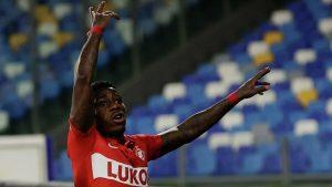Pobeda Spartaka nad Napoli v Lige Evropy prinesla betteru vyigrysh s koeffitsientom 43.0