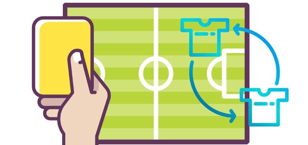 Stavka ZHK ranshe zameny v futbole