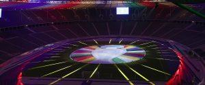 uefa euro 2024 logo on stad
